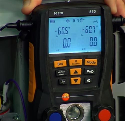 Best HVAC Manifold Gauges Testo 550