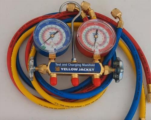Best HVAC Manifold Gauges Yellow Jacket 42004