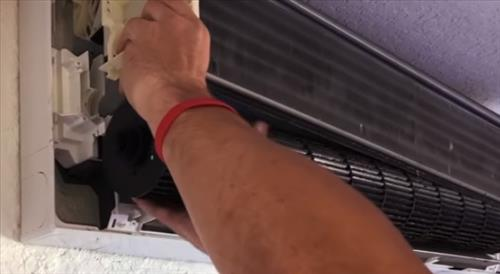 How To Clean a Mini Split HVAC Unit Step 6.1