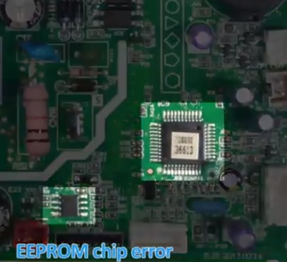 How To Fix an E0 F4 Mini Split Error Code Eeprom chip