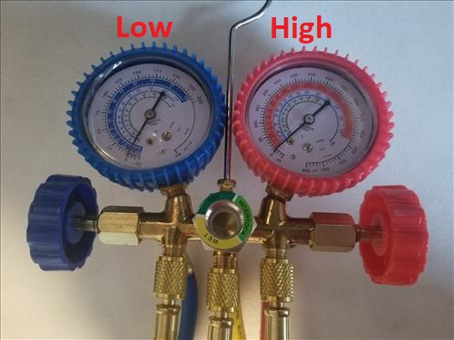 Components of an HVAC Gauge