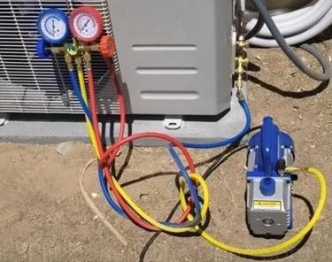 How HVAC Gauges Work pump down