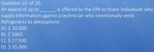 How to Pass the EPA 608 Certification Exam Test 2020 4