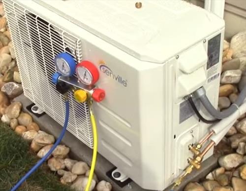 BEST DIY Mini Split Heat Pump that Cools and Heats 2020