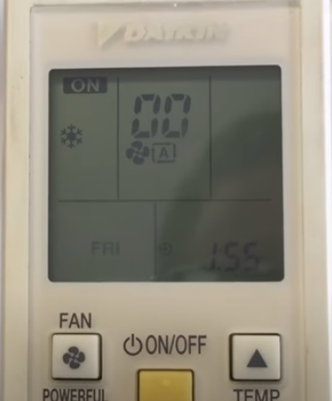 How To Find the Fault Code on a Daikin Mini Split System Step 3