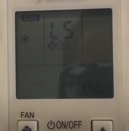 How To Find the Fault Code on a Daikin Mini Split System Step 4
