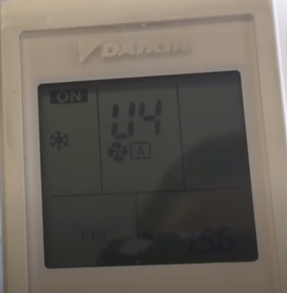 How To Find the Fault Code on a Daikin Mini Split System Step 5