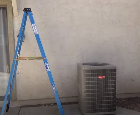 HVAC Tool List for Technician and Installer with Pictures Ladders