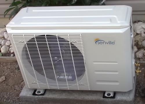 Best DIY Mini Split Heat Pump that Cools and Heats 2021 Senville