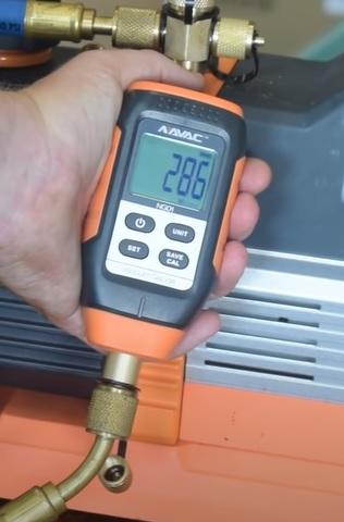 Best Micron Gauge for HVAC NAVAC NMV1