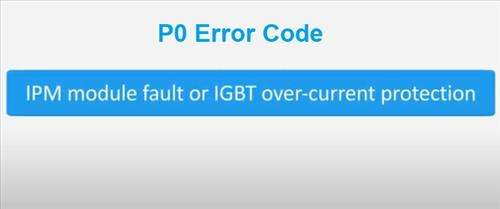 How To Fix a Mini Split P0 Error Code