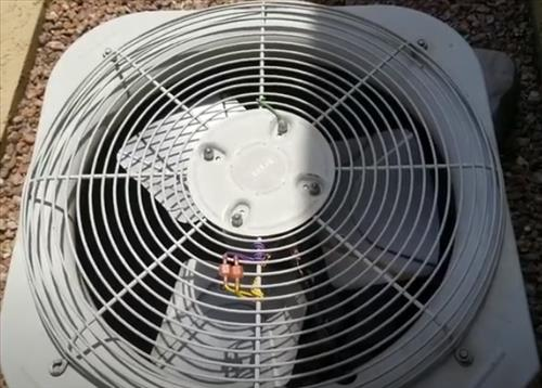 How to Fix A Loud Noisy Air Conditioner Unit Condensing Fan Motor