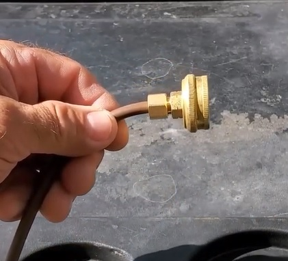 How to Hookup or Repair a Swamp Cooler Water Line Hose bib