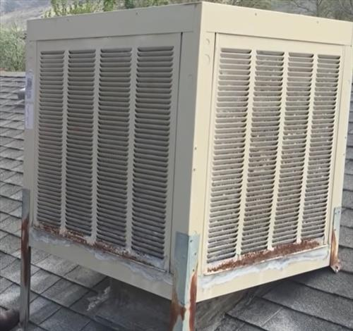 Best Whole House Swamp Cooler Evaporative Cooler Downdraft 2