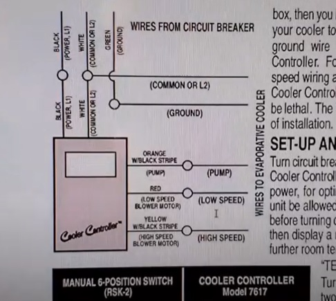 How To Install a Thermostat on an Evaporative Swamp Cooler Step 4